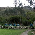 Unser erstes Camp