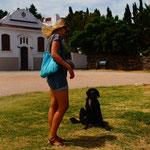 Unser treuer Begleiter für einige Zeit in Colonia, ein Straßenhund