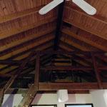Sogar Betten unter dem Dach hatten wir in unserer Ferienwohnung