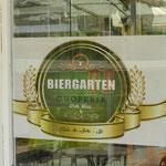 "Im ""Biergarten"" in São Paulo"