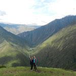 In den Weiten der Anden - da fühlt man sich gleich klein und unbedeutend...