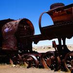 Auf dem Friedhof der Züge (Cementerio de los trenes)