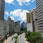 Unspektakulär und ...naja, Häuser halt. Der typische Blick in São Paulo