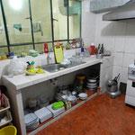 So sieht also eine peruanische Küche aus.