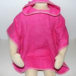 Bade-Poncho pink