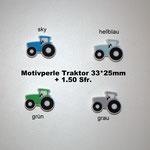 Silikonperle Traktor