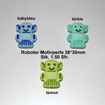 Silikonperle Roboter