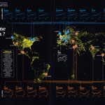 GEO / Le  monde en carte / The World in maps / Top Cities by Reputation
