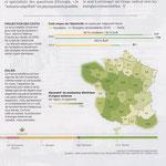 """National Geographic  """"Spécial Climat"""" / Cartes et graphiques"""
