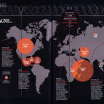 GEO / Le  monde en carte / The World in maps / Prisons