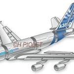 Hachette livres scolaires / Airbus A380