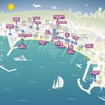 GALA / Où voir les stars à Cannes / Cannes Star spotters' Guide