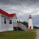 Bon Désir lighthouse, Tadoussac, Québec, Canada. Photo © Hugues Piolet.