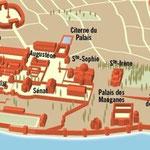 Historia / Byzance (détail d'une double-page)