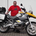 07.04.2014: Siegfried Eckert aus Wehr mit seiner BMW R 1200 GS