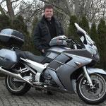 03.03.2014: Herr Kiehl aus Weil am Rhein mit seiner neuen YAMAHA FJR 1300