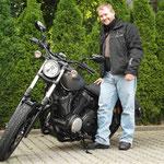 18.08.2014: Sven Hagin aus Binzen mit seiner neuen YAMAHA XV 950R