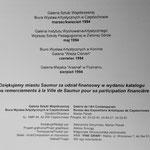 Archives Patrice Moreau. Pologne : exposition de Patrice Moreau avec Barreau et Girardin 1994