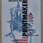 Archives Patrice Moreau. U.S.A. : California Society of Printmakers.  Academy of art College. San Francisco - Californie 1998