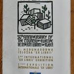 """Archives Patrice Moreau. Croatie:  2éme exposition internationale """" Ex Libris"""" Rijeka, 1999"""