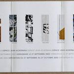 Archives Patrice Moreau. Saumur:  Xylon Gravure sur bois. Espace Jean Ackerman 2002