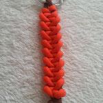 Schlüsselanhänger orange braun