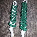 Schlüsselanhänger grün weiß