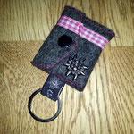 Mini-Täschli als Schlüsselanhänger