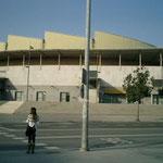 メインアリーナの 「PABELLON OLIMPICO DE BADALONA」はバルセロナオリンピックのバスケ会場でした。