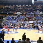 センターサークルにあるのが全チームが目指すスペイン国王杯。