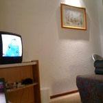 ホテルの部屋のTVで観戦。思いがけない結末でした。