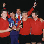 Meister Herren Kreisklasse B 1990/91 v.l.n.r. Jedamski, Maier, Zöllner, Eisenhöfer, W.Steeb, Thierer (fehlt)