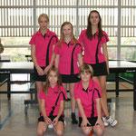 Vizemeister Mädchen Bezirksklasse A 2009/2010 hinten v.l.n.r. Jennifer Jahn, Samantha Jahn, Sarah Hölzle, vorne v.l.n.r. Jasmin Burkhardt, Celine Blum