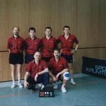 Meister Herren Kreisklasse C 1996/97  v.l.n.r. P. Krosny, Reinecker, Trunte, Jedamski, Pachlhofer, R. Krosny