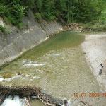 Flussbett Buchenegger Wasserfall