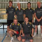 Vizemeister Herren Kreisklasse A 2009/10 hinten v.l.n.r.: B. Stickel, P. Steeb, M. Allgaier, S. Trunte, vorne v.l.n.r.: W. Steeb, A. Hase