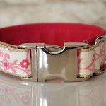 Klickhalsband pretty in pink