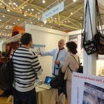 Expo/Congreso Lebenskraft Zürich 2014, nuestro stand