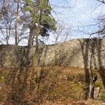 Ruina Alt-Schauenburg de 1275 (Medioevo)