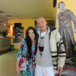 with the clairvoyant  Teal Scott (USA)
