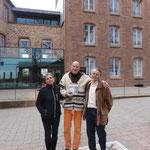 el editor me visita en... / der Verleger kam mich besuchen auf dem Odilienberg (Mont St. Odile