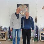 Pascal K'in con el famoso sanador ruso Alexei Nikitin con su vista laser...