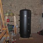 Ein schweres Stück Kesselbau: Schichtenspeicher (1.500 Liter)