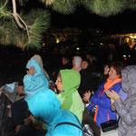 Ostseeheilbad Zingst, 11.09.2015 - 13.09.2015, Impressionen vom Publikum, auch den Regen haben wir erlebt