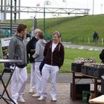 Konzert im Park am Deich in Friedrichskoog, 14.07.2015, die jungen Sänger