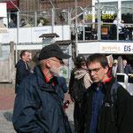 Hartwig Looft und Gunnar Klugas in Büsum am 29.05.2014