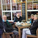 Dorf Wangerland vom 13.10. - 15.10.2017, Langeoog-Ausflug, die wohlverdiente Kaffeepause