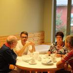 Ostseeheilbad Zingst, 11.09.2015 - 13.09.2015, eine gemütliche Frühstücksrunde