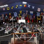 Shantyfestival in Grünendeich am 18.07.2015, Festhalle