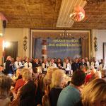 Konzert am 05.03.2017 im Klever Hof, das Finale mit beiden Chören